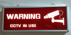 cctv warning notice ¦ cctv security camera signs for sale